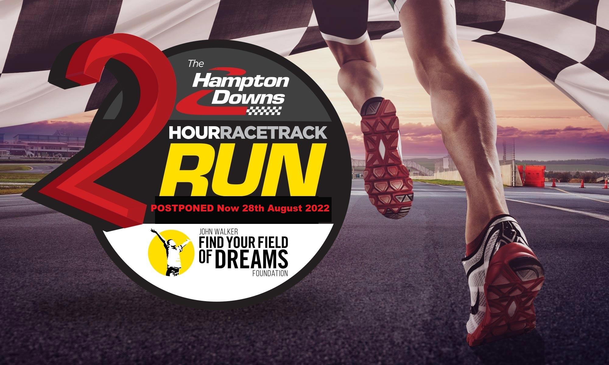 Hampton Downs Race Track Run Postponed – Now 28th August 2022